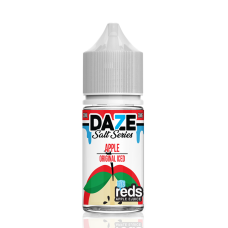 7 DAZE - REDS SALT SERIES - ORIGINAL APPLE ICED - 30mL (Iced)